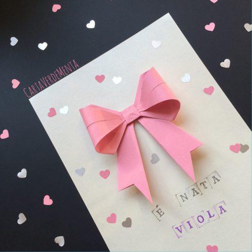 Fiocco origami